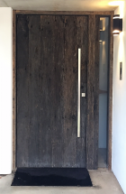 Grey WEathered Barn Door
