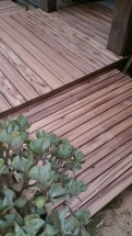 Uncoated Recycled Timber Decking