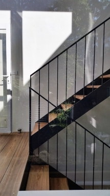 Recycled Timber stairs SG